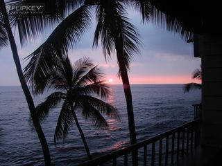 Kailua Kona condo photo - One of Our Guests took this Photo of a Glorious Sunset from our Lanai