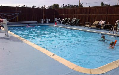 Access to community swimming pool Memorial Day through Labor Day.