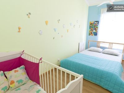 Bedroom 2 - with cot