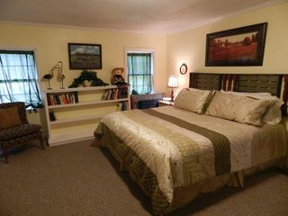 Chimney Rock cottage photo - Master Bedroom with king bed