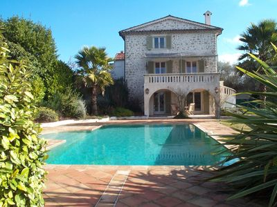 Charming house in Mougins near Cannes, private pool, 6 persons - Internet.