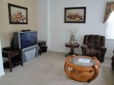 Full cable, HD TV, and wireless high speed internet throughout Villa.