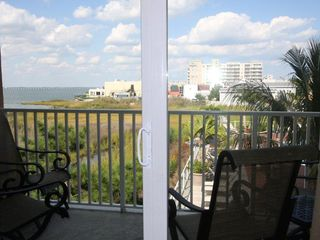 Makai Ocean City condo photo - view from the deck