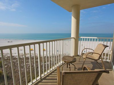 Right On the beach, direct beach views  from your own private penthouse balcony