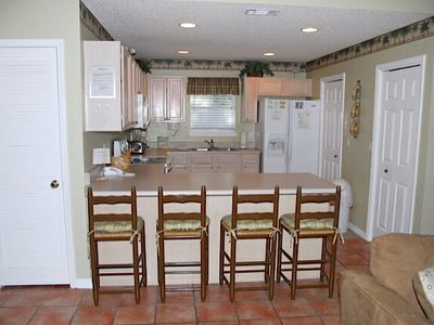 Full Kitchen will all dishes, utensils, pots & pans.