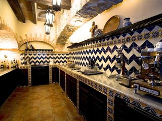 Puerto Vallarta villa photo - Talavera Tiled Kitchen