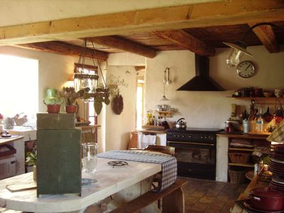 Uzes house rental - Kitchen