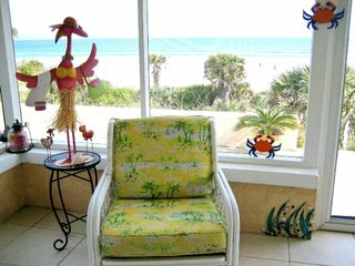 New Smyrna Beach house photo - Frisky Flamingo LOVES the Fla Room View!