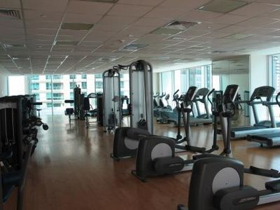 Dubai Marina & Al Sufouh apartment rental - Fully equipped gym