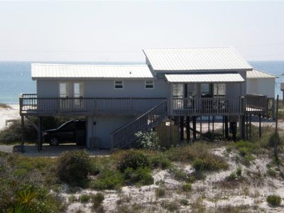 2BR / 1½ BA, Enclosed outside shower, Gulf View House with spectacular views