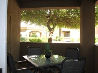 Scottsdale North condo photo - Private patio facing quiet inner green courtyard.