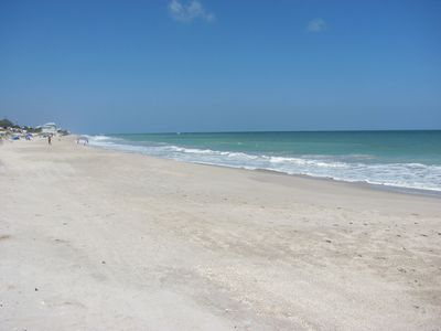 Vero Beach townhome rental - Beautiful beach for walking, surfing, or swimming