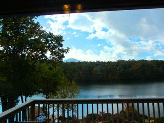 Huddleston cabin photo - There is not a prettier view on the lake!