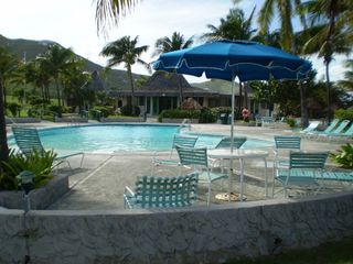 St. Croix condo photo - Pool and Cabana Area