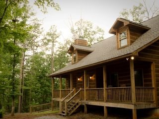 Ellijay cabin photo - Beautiful surroundings in the north Georgia mountains at Star Seasons Retreat