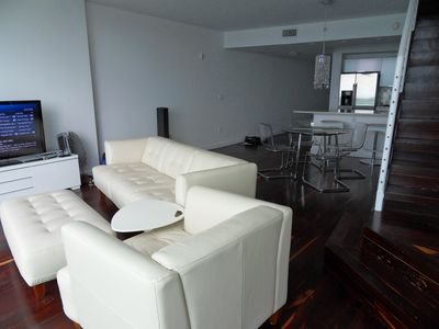 North Miami Beach apartment rental - Living room