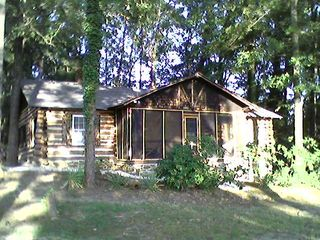 Farmville cabin photo - The Cabin on the Lake - Late summer sunset