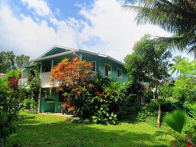 Hanalei house rental - Beautiful Hawaiian-style Home in Lovely Tropical Setting