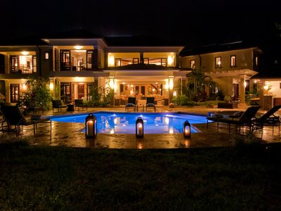 Montego Bay villa rental - Tek Time Villa - A wonderland by night.