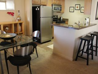 Tucson condo photo - Seating for four at the dining table and two barstools for the eat-in kitchen