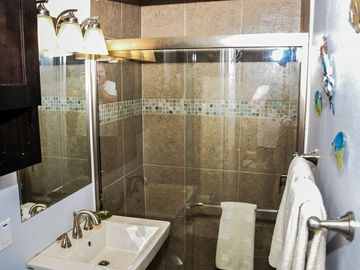 Completely remodeled bathroom