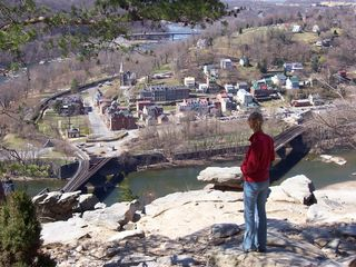 Harpers Ferry cottage photo - View from Maryland Heights