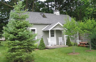 Photo of cottage located behind the house. Can rent this separately or w/house.