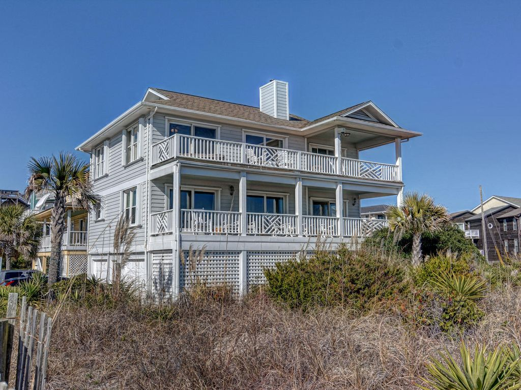 Wrightsville Beach Vacation Rental VRBO 553794 4 BR Southern Coast House