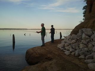 Milam lodge photo - We have a natural cove where bass and crappie thrive.