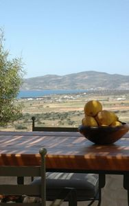 Paros house rental - Outdoor dining