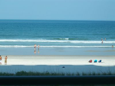 Jacksonville Beach condo rental - Actual View From Our Unit