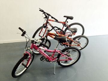 3 Kid's Bikes - 1 Girl's + 2 Boys (Small and Medium)