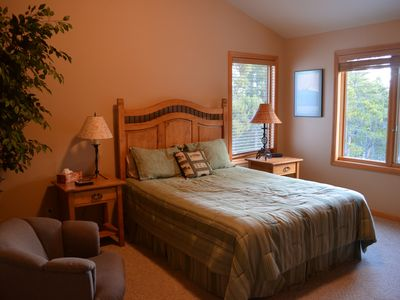 Upstairs Bedroom 3 with a new Queen bed