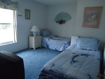Spacious third bedroom with cable TV