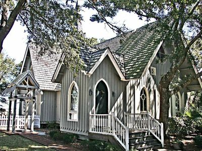 The Village Chappel offers a charming place to renew vows or to get married
