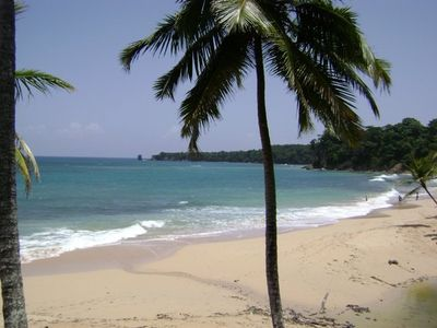 Caleta Beach in La Romana - You can stay in free apartment overnight for free.