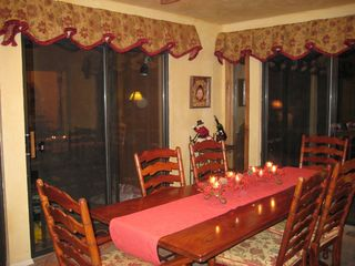 Ruidoso house photo - Dining table large enough for 10