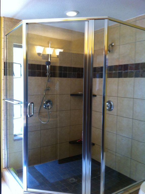 Dana Ct., Lake Tahoe-Master Bath with Dual Shower
