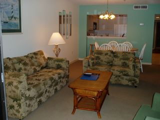 Kingston Plantation condo photo - Spacious seating area.