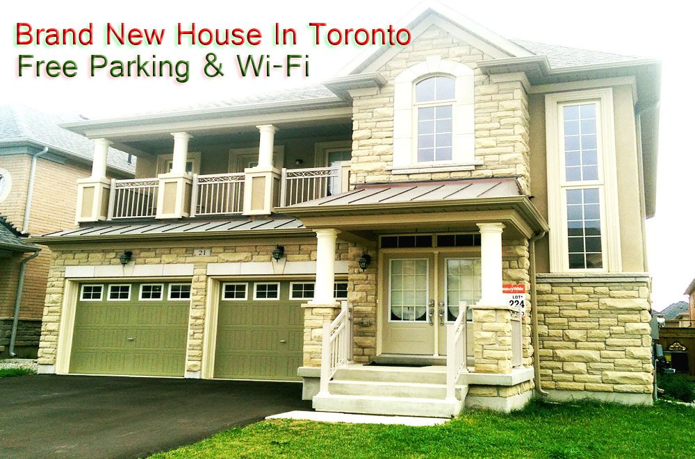 High-End (4BRM 3BATH) Vacation/Tourist Home In Toronto ON (free Wi-Fi & parking)