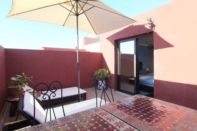 in Marrakesh with Terrace, Air conditioning, Lift, Internet () - Marrakech - appartement