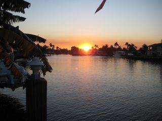 Pompano Beach house photo - Sunsets on our dock