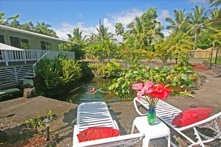 Natural Lava Heated Pool Steps To Vrbo