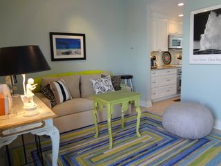 Brigantine condo photo - Den with Full Size Sleep Sofa