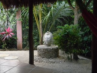 Tulum house photo - side garden area