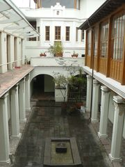 Quito apartment photo - .View of the patio from the porch