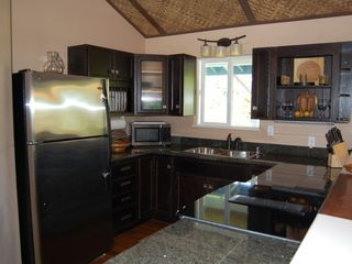 Keaau house photo - Pineapple Suite kitchen.