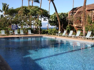 Enjoy the largest privately owned pool on West Maui