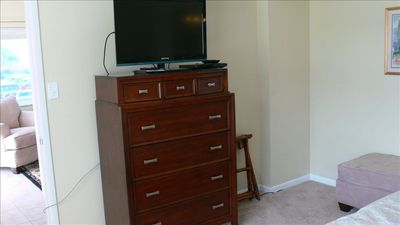 Master Bedroom Chest And TV