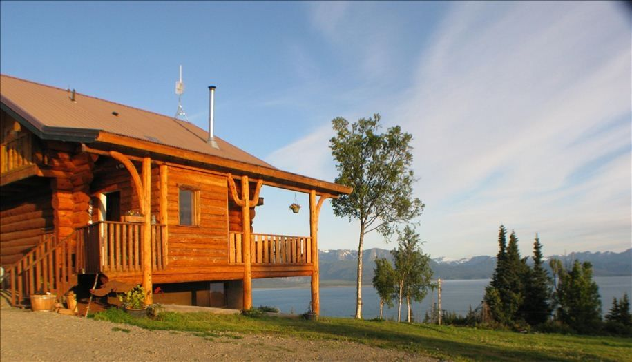 Eagles rest on kilcher family homestead in vrbo for How to get a homestead in alaska